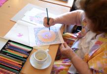Rudolf Steiner Zorg mandela tekenen