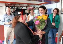 Bakkers van Iambe ontvangen diploma ROC opleiding assistent bakker