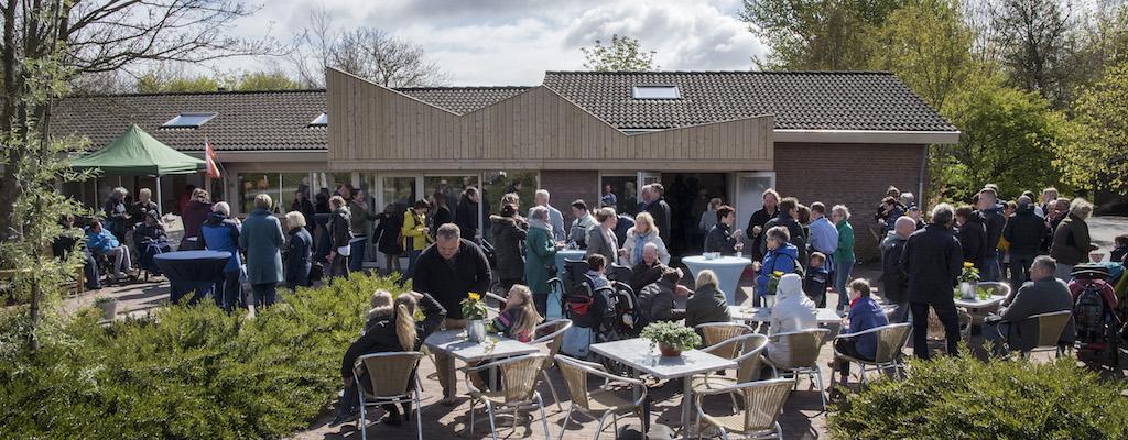 Nederland, Tuitjenhorn, 22 april 2017 Opening Koperen Koning, Midgard. Foto: Michiel Wijnbergh